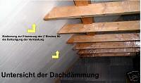 Haus Bau Dämmung Dach Bauen Wärmeschutz  Energiesparen  Dachdämmung  Euromac2