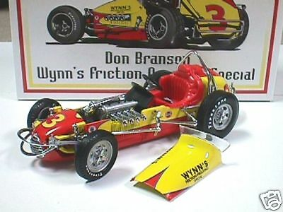 GMP DON BRANSON WYNNS VINTAGE DIRT SERIES SPRINT RACE CAR DIECAST 1:18 ACME