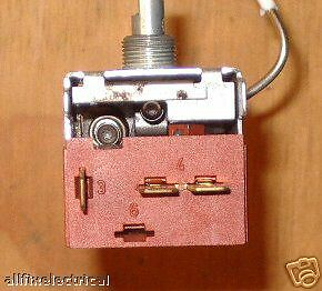 Kelvinator C400D-R Cyclic Defrost Thermostat - Part # 1413141, 077B6294 3