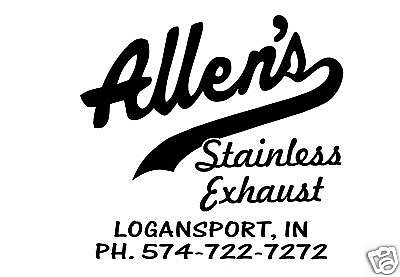 Allen's Stainless Exhaust