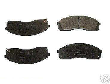 KIA SEDONA BRAKE PADS FRONT 121999ON ALL MODELS