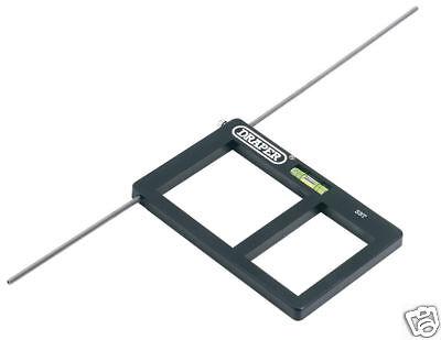 Draper 63955 Electrical Socket Back Box Template Cutter Level