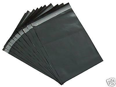 10 Grey Mailing Mail Postal Bags Mixed Plastic Post Strong Self Seal Strong